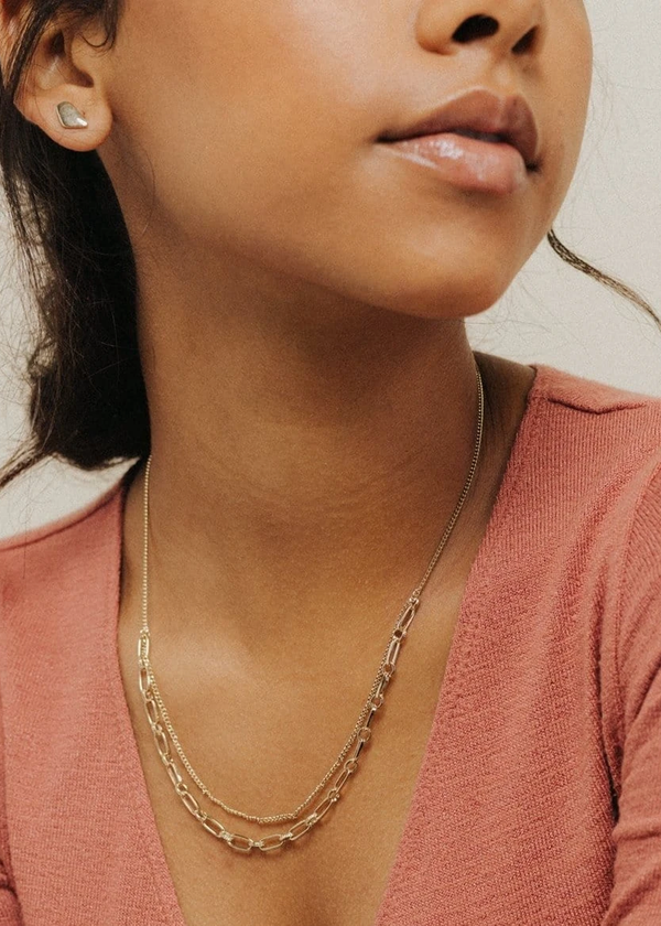 Lover's Tempo Aya Necklace Gold