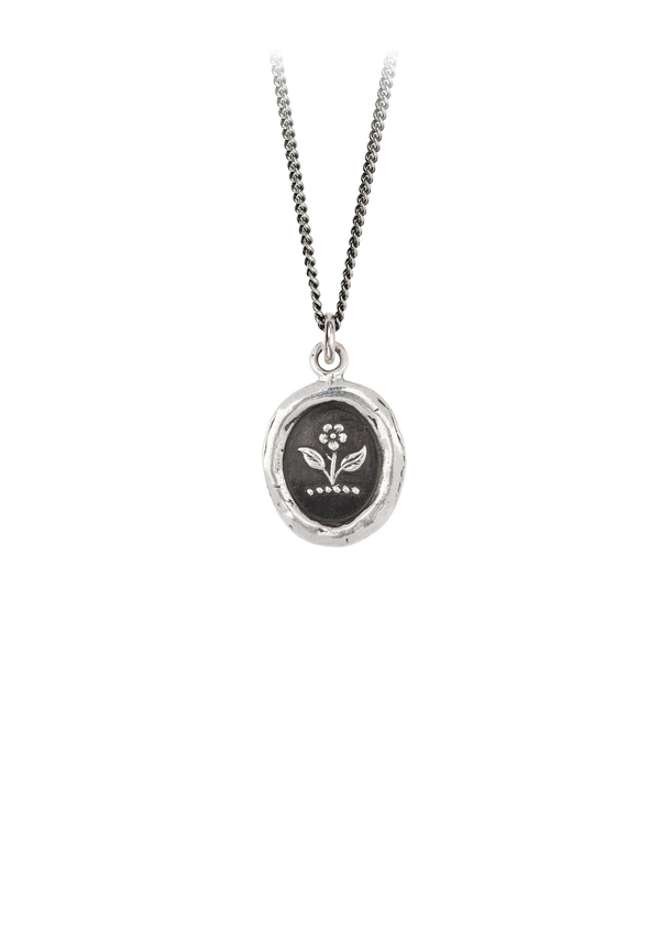 Pyrrha Beauty & Strength Silver Talisman
