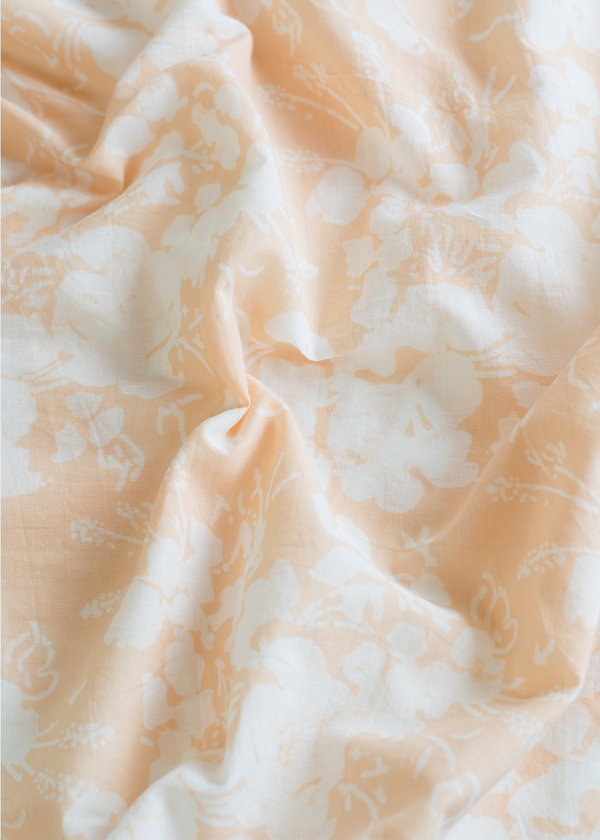 Kerry Cassill King Pillowcase Blush Foral Faded