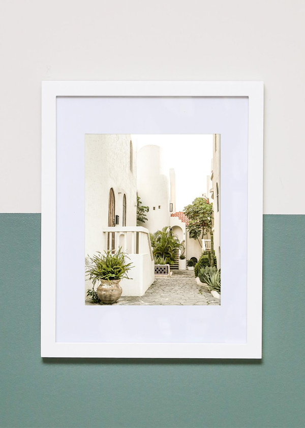 Cabo Courtyard 8X10 Framed