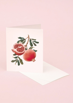 Botanical Scented Card - Pomegranate
