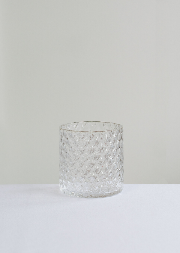 Deco Collection Drinking Glass | Clear