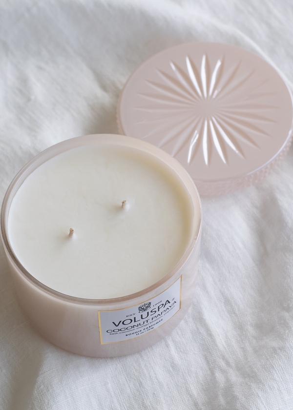 Voluspa Coconut Papaya Corta Maison Candle