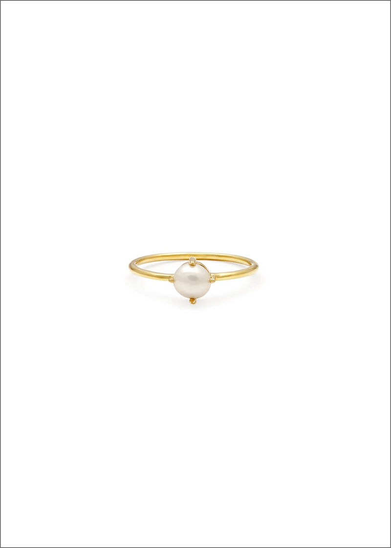 Compass Ring | Pearl