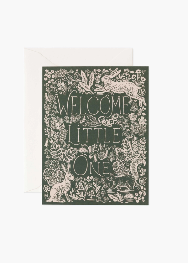 Rifle Paper Fable Baby Card