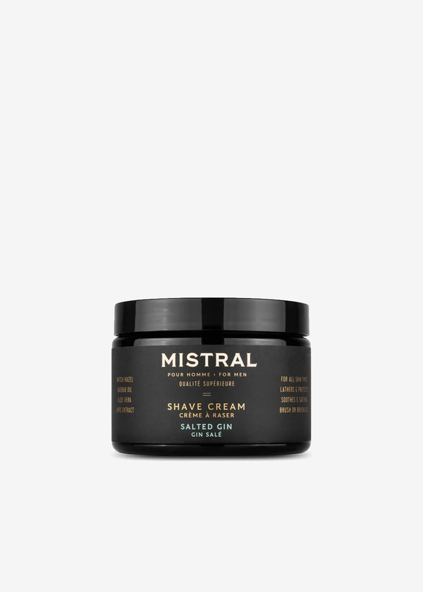 Mistral Salted Gin Shave Cream