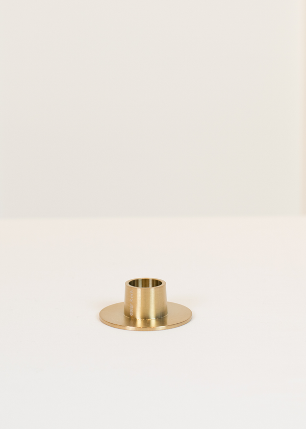 Ester & Erik Taper Candle Holder Brass