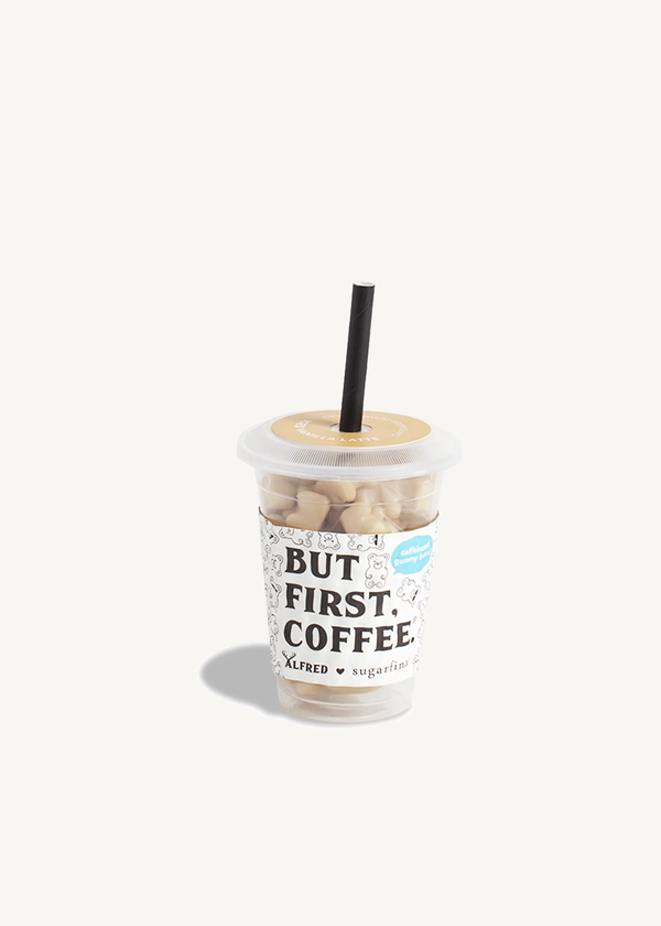 Sugarfina Iced Vanilla Latte Bears - Mini Coffee Cup
