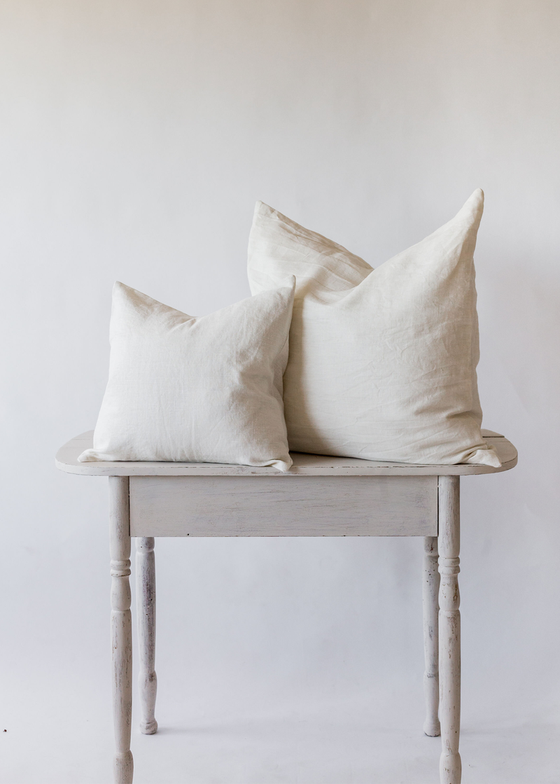 Nomi Design Pillow Cover Ivory