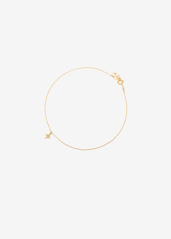 Leah Alexandra Lirio Anklet | Goldfill