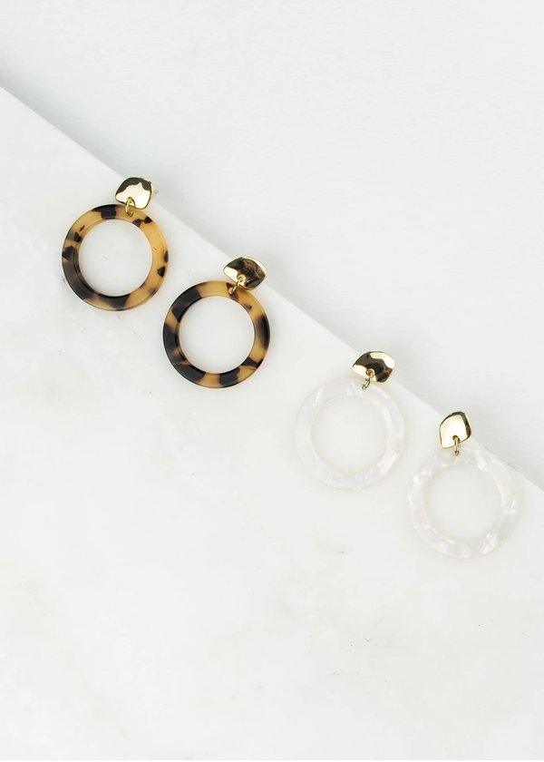 Lover's Tempo Odessa Hoop Earrings