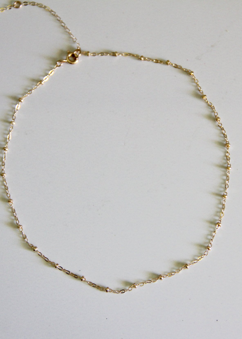 Raquel Rosalie Pebble Chain