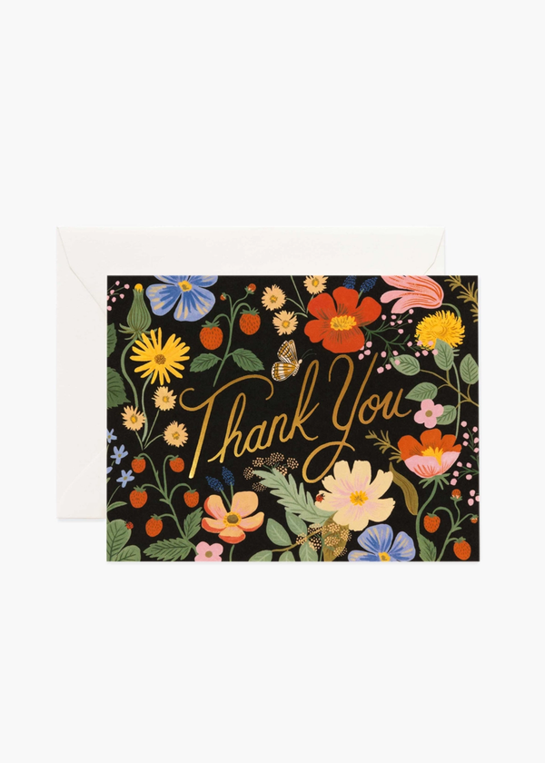Strawberry Field's Thank You Card