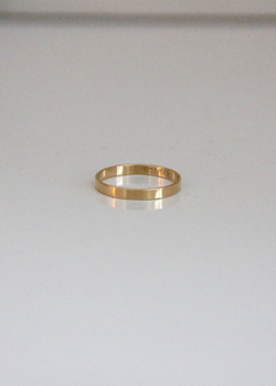 Raquel Rosalie Thick Band Ring