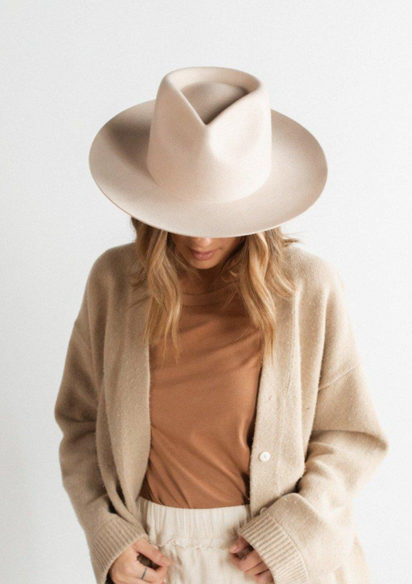 Gigi Pip Zephyr Rancher Hat | Cream