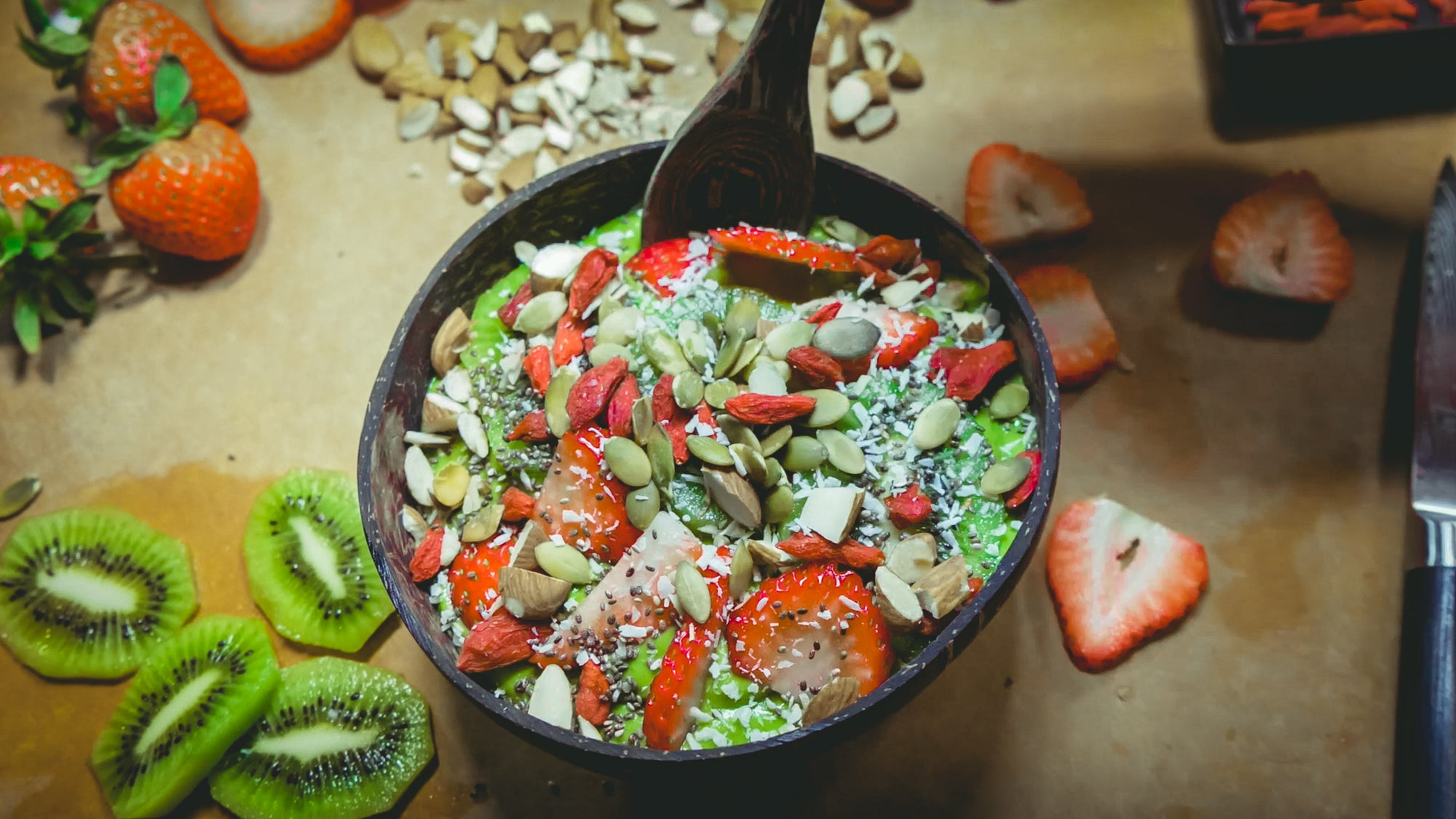 Tropical Greens Smoothie Bowl