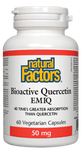 Natural Factors Bioactive Quercetin EMIQ 50mg, 60 Capsules