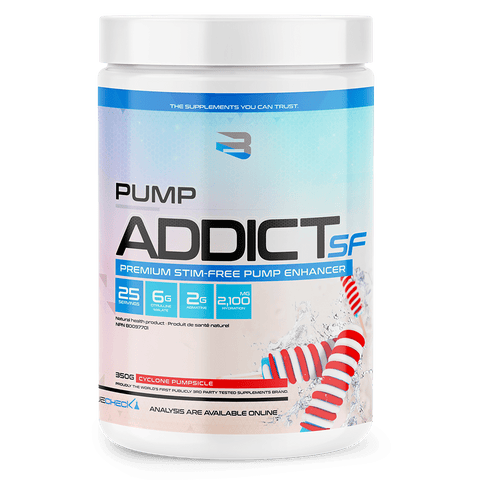 Believe Pump Addict Stimulant Free, 25 servings