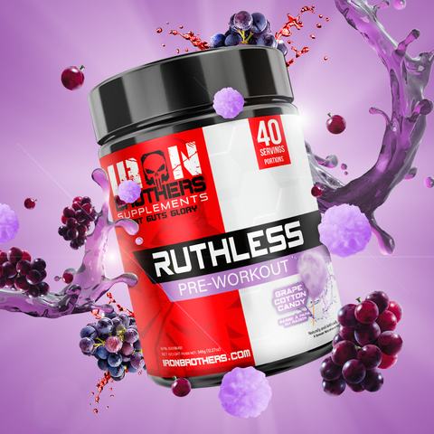 Iron Brothers Ruthless, 40 servings
