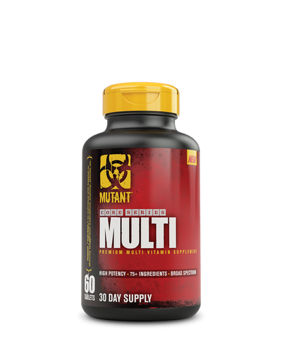 Mutant Core Series Multi-vitamin, 60 tablets