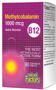 Methylcobalamin B12, 90 sublingual tablets