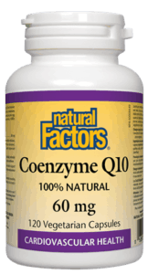 Natural Factors Coenzyme Q10 100mg, 60 softgels