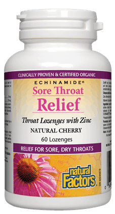 Sore Throat relief, 60 lozenges