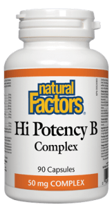 Natural Factors High Potency B Complex, 60 capsules