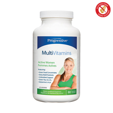 Progressive Active Women Multivitamin, 120 capsules