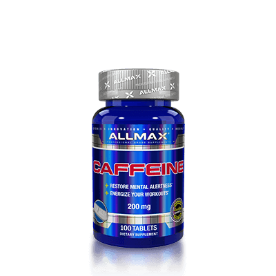 Allmax Caffeine 200mg, 100 tablets