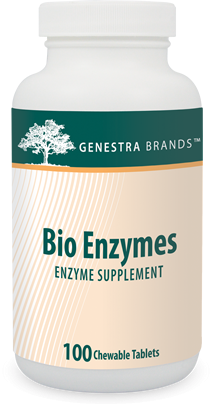 Genestra Bio Enzymes, 100 Chewable Tablets