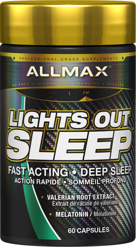 Allmax Lights Out Sleep, 60 capsules