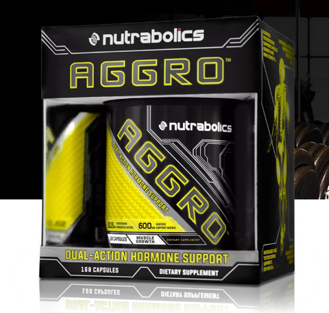 Nutrabolics AGGRO, 168 capsules