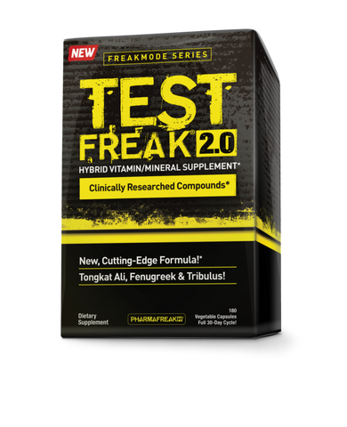 PharmaFreak Test Freak 2.0, 180 capsules