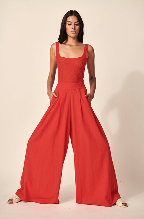 ACASIA PANTS RED