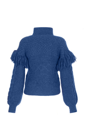 CLO SWEATER ELECTRIC BLUE