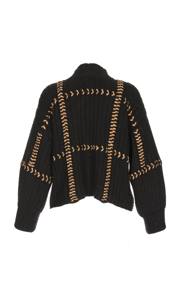 PAJARA SWEATER BLACK