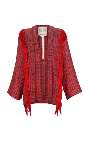 URPI CARDIGAN RED