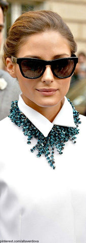 Olivia Palermo Collared shirt