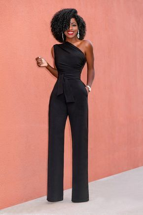 Jumpsuit & Earrings