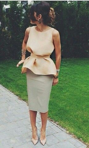 Pencil Skirt for Wedding