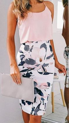 Summer Pencil Skirt