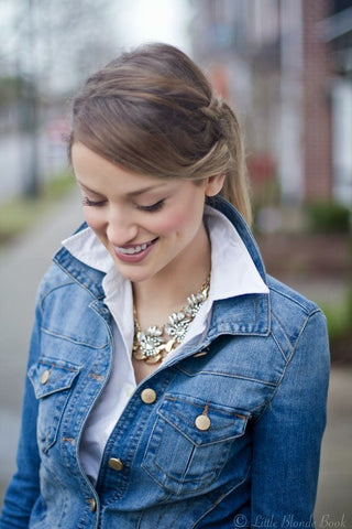 Upturned Collar with Jacket