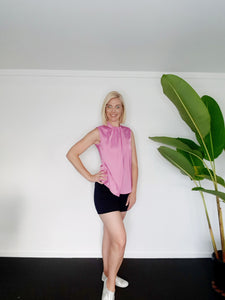 Silken Swish Top - Designed for Pears (Pink)