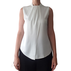 Silken Swish Top - Designed for Pears (White)