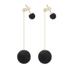 Load image into Gallery viewer, Jenn - Velvet Stud & Drop Earrings