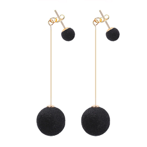 Jenn - Velvet Stud & Drop Earrings