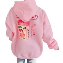 Load image into Gallery viewer, Strawberry Milk Hoddie