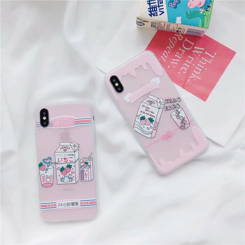 Strawberrry Milk Phone Case