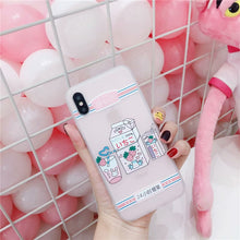 Load image into Gallery viewer, Strawberrry Milk Phone Case